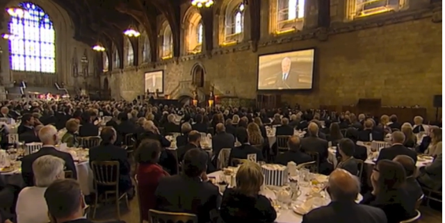 British Houses of Parliament Prayer Breakfast - 2013