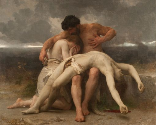 The First mourning by William Bouguereau