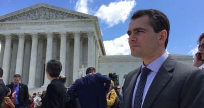 Ryan Anderson-Outside supreme court